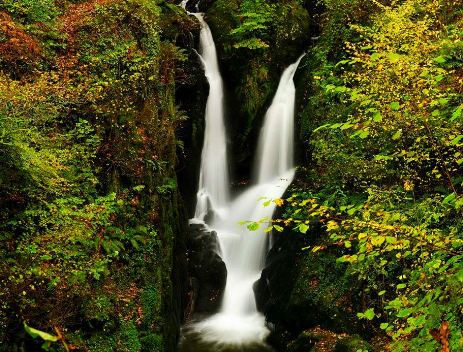 Водопад Ghyll.Что посмотреть.