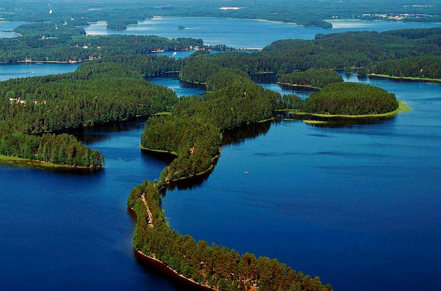 Озеро Сайма.Финляндия.